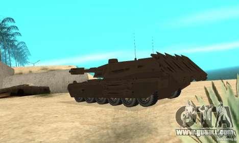 Rhino Tank Megatron for GTA San Andreas back left view