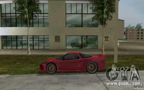 Acura NSX 2004 Veilside for GTA Vice City left view