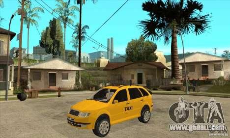 Skoda Fabia Combi Taxi for GTA San Andreas