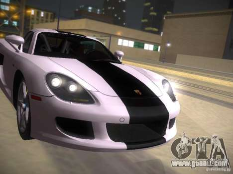 Porsche Carrera GT for GTA San Andreas upper view