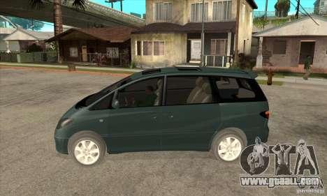 Toyota Estima for GTA San Andreas left view