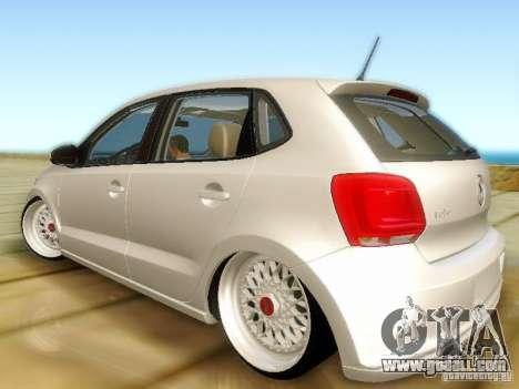 Volkswagen Polo 6R TSI Edit for GTA San Andreas left view
