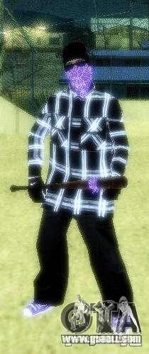 New skins The Ballas gang for GTA San Andreas third screenshot