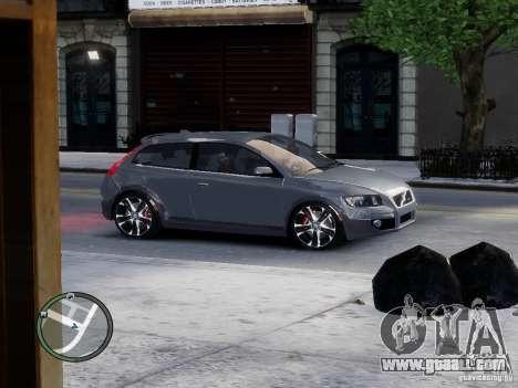 VOLVO C20 RSIGION for GTA 4 left view