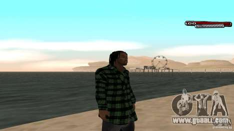 New skin Grove HD for GTA San Andreas forth screenshot