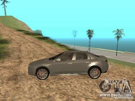 Alfa Romeo 159Ti for GTA San Andreas left view