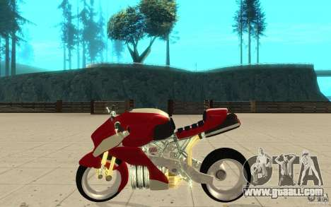 New NRG Standart version for GTA San Andreas left view