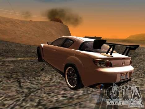 Mazda RX-8 Varis Custom for GTA San Andreas left view