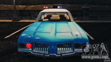 Oldsmobile Vista Cruiser 1972 Police v1.0 [ELS] for GTA 4 wheels