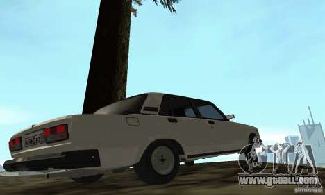 Vaz 2107 Stock v.2 for GTA San Andreas left view
