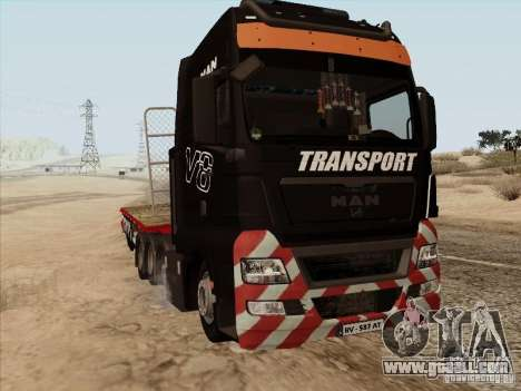 MAN TGX 8x4 for GTA San Andreas