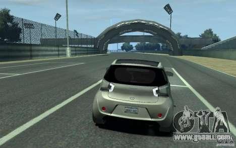 Aston Martin Cygnet 2011 for GTA 4 right view