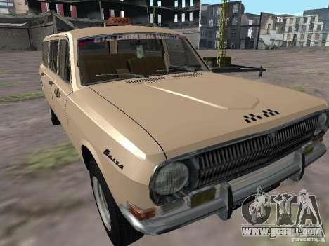 GAZ-24 Volga Taxi 02 for GTA San Andreas