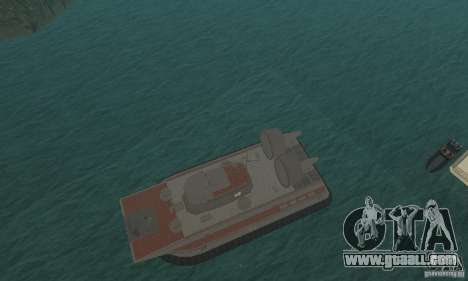 Hovercraft for GTA San Andreas inner view