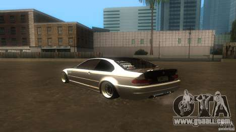BMW E46 M3 Coupe 2004M for GTA San Andreas right view