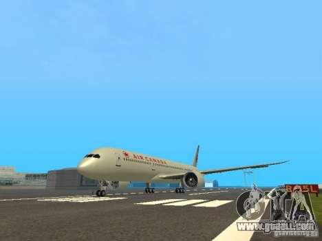 Boeing 787 Dreamliner Air Canada for GTA San Andreas