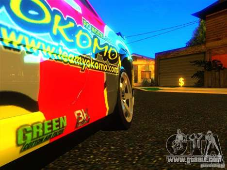 Nissan Skyline R34 Nismo for GTA San Andreas right view