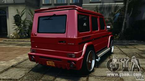 Mercedes-Benz G55 AMG for GTA 4 back left view