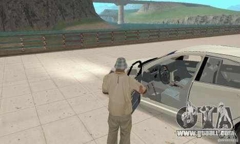 Honda Accord Comfort 2003 for GTA San Andreas back view