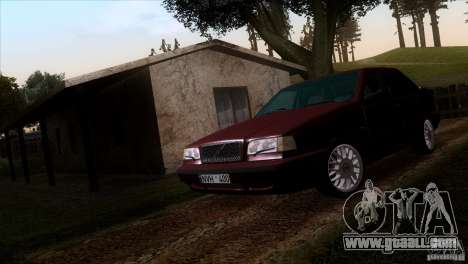 Volvo 850 Final Version for GTA San Andreas right view