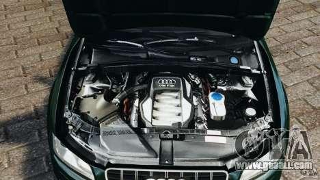 Audi S5 for GTA 4 upper view