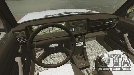 Vaz-2107 2011 DAG for GTA 4 back view