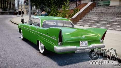 Plymouth Belvedere 1957 v1.0 for GTA 4 back left view