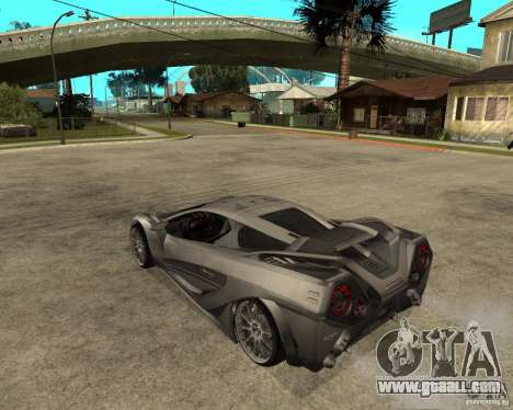Nemixis for GTA San Andreas left view