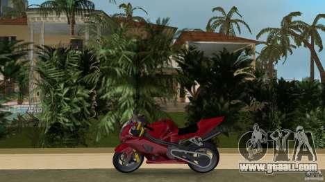 Suzuki GSX-R 1000 for GTA Vice City left view