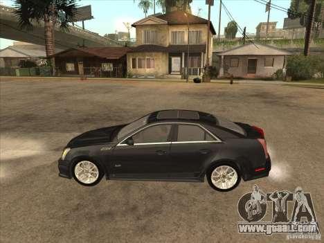 Cadillac CTS-V 2009 for GTA San Andreas left view