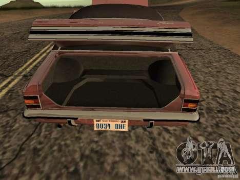 Ford Cortina MK 3 2000E for GTA San Andreas right view