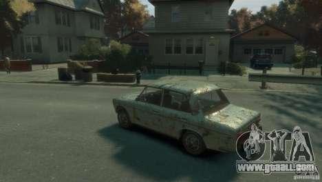 VAZ 2103-Rusty v1.0 for GTA 4 left view