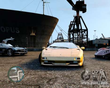 Lamborghini Diablo SV 1997 EPM v.2.3 for GTA 4 right view
