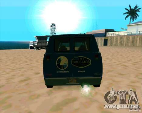 BUGSTARS Burrito from GTA IV for GTA San Andreas right view