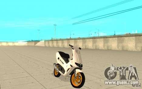 Gilera Runner 50SP Skin 3 for GTA San Andreas