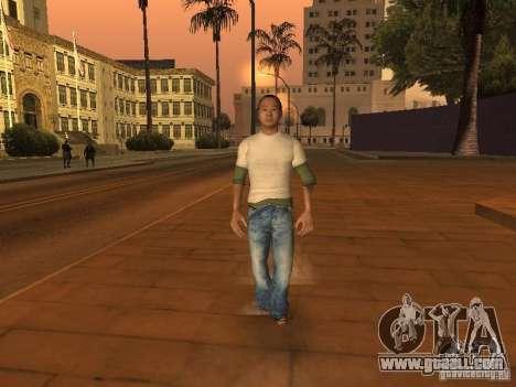Black Stallion Peds for GTA San Andreas forth screenshot