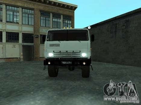 KAMAZ 4310 Watch for GTA San Andreas back left view
