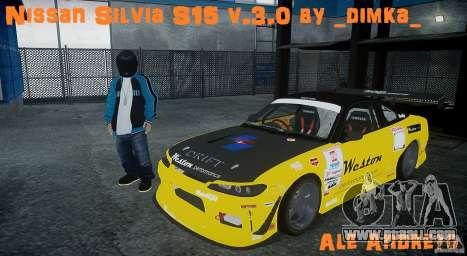 Nissan Silvia S15 v.3.0 for GTA 4