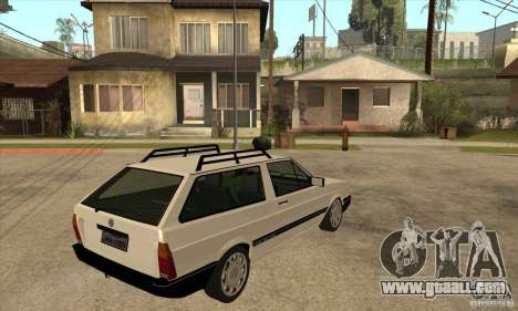 VW Parati GLS 1989 for GTA San Andreas right view
