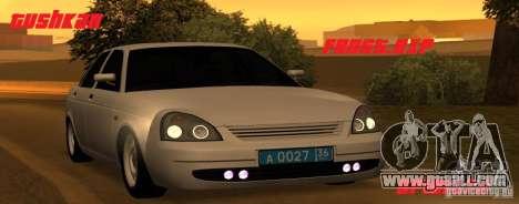 Lada Priora Light Tuning for GTA San Andreas
