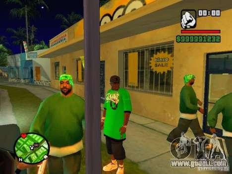 50 cent Skin for GTA San Andreas third screenshot