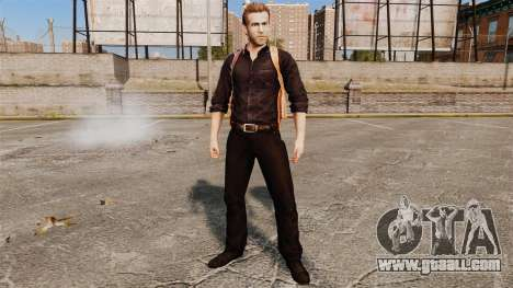 Ryan Reynolds (Nick Walker) for GTA 4