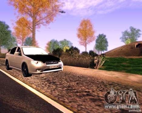 Subaru Legacy 3.0 R tuning v 2.0 for GTA San Andreas right view