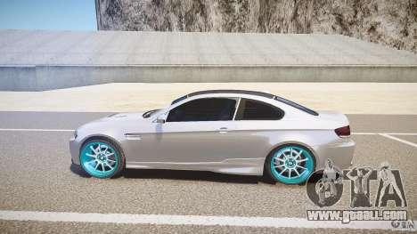 BMW E92 for GTA 4 left view
