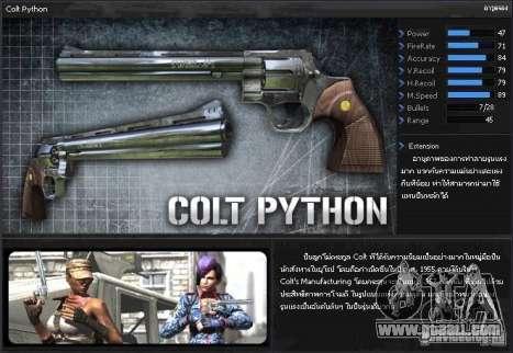 [Point Blank] Colt Python for GTA San Andreas