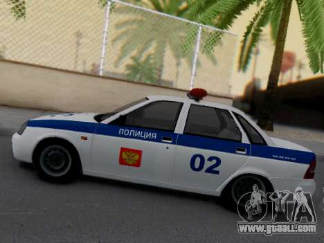 LADA 2170 DPS for GTA San Andreas left view