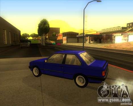 BMW E30 323i for GTA San Andreas