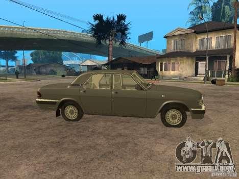 GAZ 3110 v 2 for GTA San Andreas left view