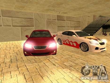 Lexus IS 350 for GTA San Andreas