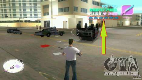 Wanted Level = 0 for GTA Vice City second screenshot